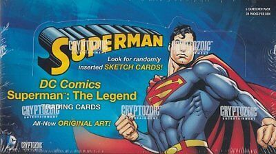 Cryptozoic Superman: The Legend Trading Card Box