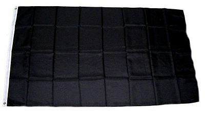 Flagge / Fahne Schwarz Hissflagge 90 x 150 cm