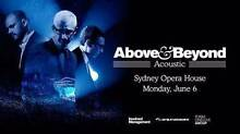 2X Above & Beyond Acoustic PREMIUM TICKETS (stalls) SYDNEY 4PM Surry Hills Inner Sydney Preview