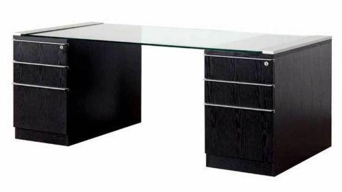 Wood Office Desk | EBay