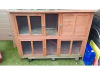 Large 2 storey Rabbit , guinea pig hutch