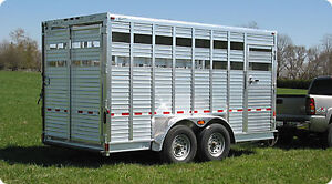 Looking for: Aluminum Stock Trailer
