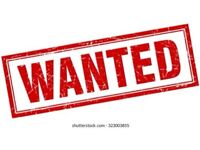 WANTED - LINO or VINYL FLOORING or RUBBER BACKED CARPET (OFFCUTS Runner)