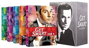 GET SMART-The complete DVD series 1 to 5 /1965 - 1970