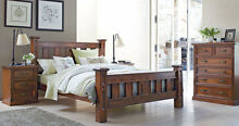 Sturdy/Strong/Solid NZ Pine wood bed frame Bundall Gold Coast City Preview