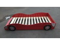 KIDS RED CAR BED FOR SALE