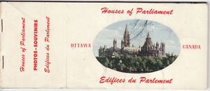 Postcards Houses of Parliament, Ottawa
