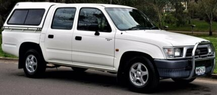 2001 Toyota Hilux RZN149R White 5 Speed Manual Utility