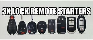 Remote start your vehicle from your factory key fob!!