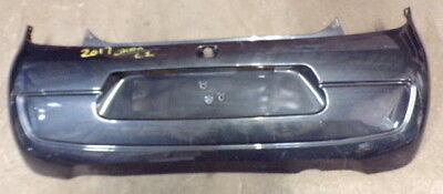 19824 3M 2014 CITROEN C1 REAR BUMPER IN GREY 52159 0H090