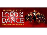 2 x LORD OF THE DANCE TICKETS - Nottingham, Royal Concert Hall