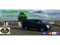 Mylesmoor travel Airport & seaport transfers
