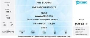 ADELE Live - 1 ticket available Dickson North Canberra Preview