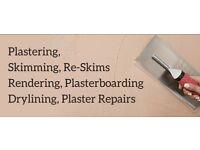 Plasterer looking for work asap