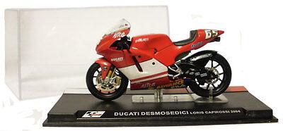 Ixo/altaya Alt02 Ducati Desmosedici Motogp 2004 - Loris Capirossi 1/24 Scale