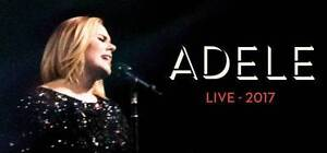 Adele 2017 2xTickets Melbourne B-Reserve Saturday 18 March Viewbank Banyule Area Preview