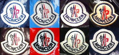 Out of all of the varieties of fake Moncler logos, this one seems to be one of the most common: