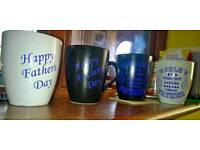 New Father's Day mugs & glasses