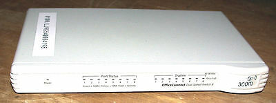 3 Com OfficeConnect Dual Speed Switch 8 Plus - 3C16791A 3Com Officeconnect Dual Switch