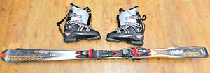 Kit Skis alpins 170cm / Bottes 29.5/ Fixations