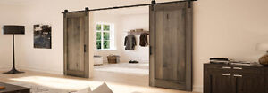 New Rustic Sliding Barn Door & Barn Door Hardware Cambridge Kitchener Area image 4
