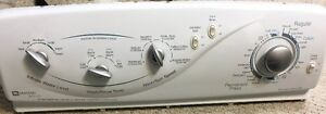 MAYTAG PARTS: WASHER CONTOL PANER WITH SWITCHES
