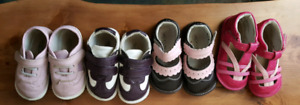 4 toddler girls  shoes by Jack and Lily