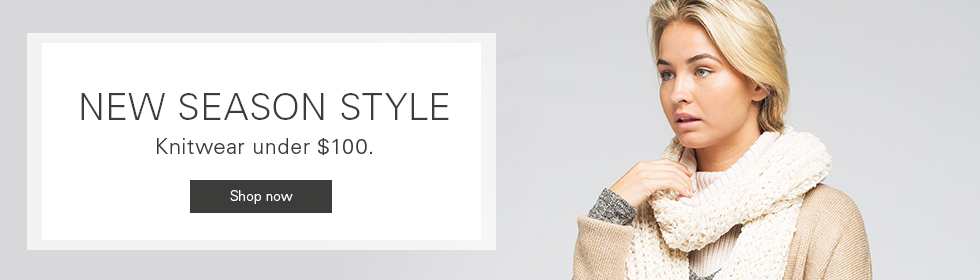 Click here to visit Knitwear Under $100
