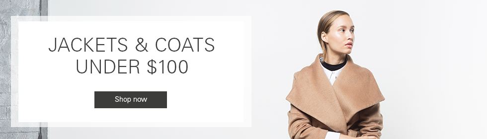 Click here to visit Jackets & Coats Under $100