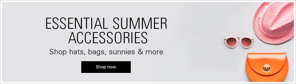 Shop hats, bags, sunnies & more