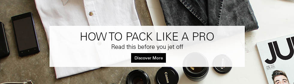 Click here to visit how to pack like a pro