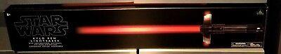 NEW Disney Parks Star Wars Kylo Ren FX Lightsaber w/ Removable Blade Last Jedi