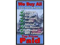 Scrap cars and recovery