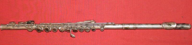 Vintage metal flute
