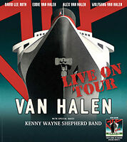Van Halen- Section 203, Row S- Molson Amphitheatre- Aug. 7