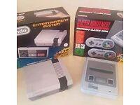 Nintendo NES Mini & SNES Mini Consoles