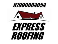 EXPRESS ROOFING & GUTTERING - FREE ESTIMATES - ROOFER - ROOF REPAIRS - FULL NEW ROOFS - FLAT ROOFING