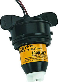 Johnson Mayfair Replacement Cartridge Motor For Aerator &  Bilge Pump 1000 GPH