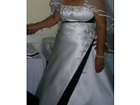 Wedding dress size 16-18