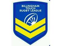 Billingham Touch Rugby Needs you!