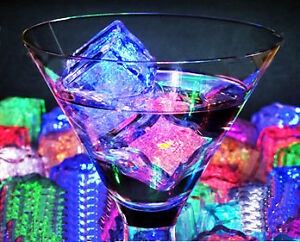 LED ICE CUBES GREAT PRICE BRAND NEW 55% OFF AND NO SHIPPING FEES