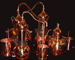 Copper Distillation