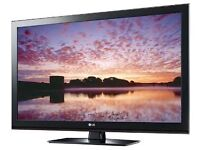 "TV LCD PLASMA LG 51"" FREEVIEW - PLUS BLACK GLASS STAND"