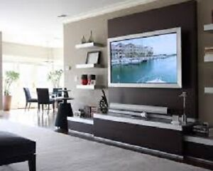 Professional Installation of Wallmount TVs