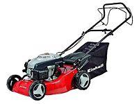 Einhell Self-Propelled Petrol Lawnmower   139cc, 46cm cutting width   As new
