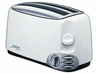 Morphy Richards 4404 Europa - 4 Slice white Toaster