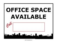Office space to share with small business