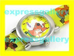 new-SHAGGY-Scooby-Doo-watch-rare-Dog-yellow