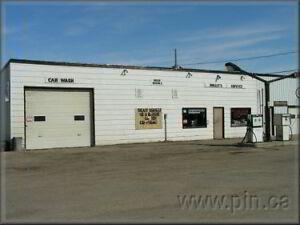WALLYS SERVICE gas bar convience store car wash