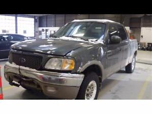 Parting Out 2003 FORD F150 SUPERCREW